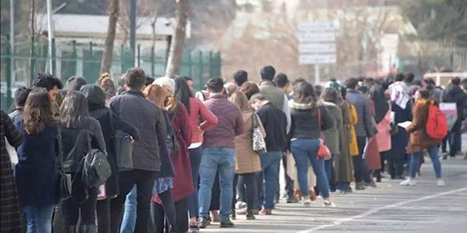 معدل البطالة في تركيا يرتفع إلى 13 بالمئة بين أيار وتموز الماضيين