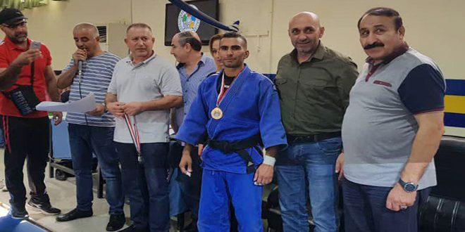لاعب الجودو سليمان الرفاعي يتحضر لبطولة العرب