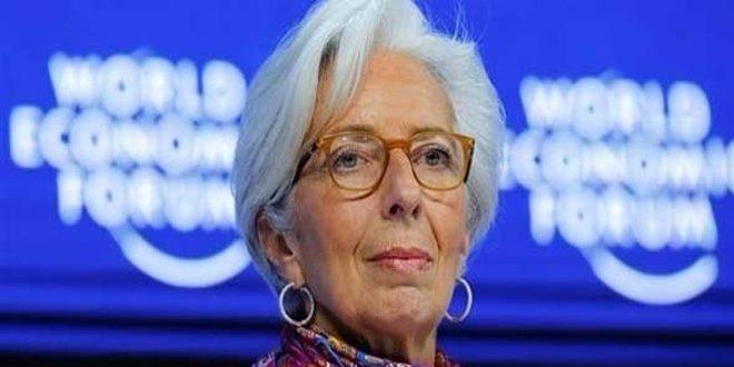 لاغارد: التوترات التجارية أكبر تهديد للاقتصاد العالمي