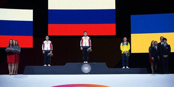 الروسي ناغورني يحرز ذهبية حصان الوثب في بطولة العالم للجمباز