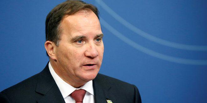 رئيس الوزراء السويدي: أفعال تركيا غير مسؤولة ومخالفة للقانون الدولي