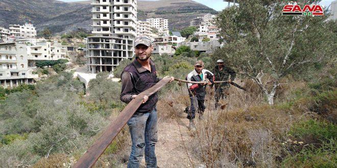إطفاء حمص: السيطرة على كل الحرائق المشتعلة في قرى وادي النضارة