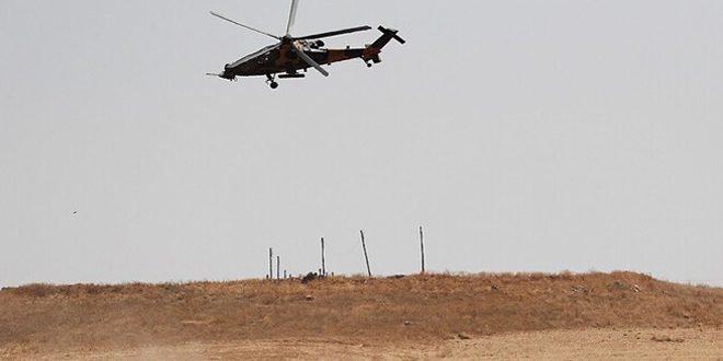 النظام التركي يعلن سقوط إحدى طائراته داخل الأراضي السورية