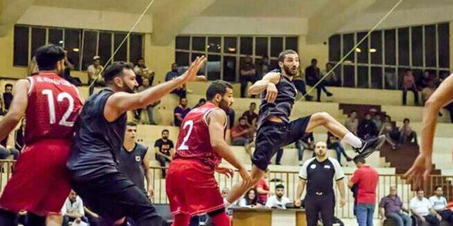 فوز الاتحاد على الكرامة في مباراة ودية بكرة السلة