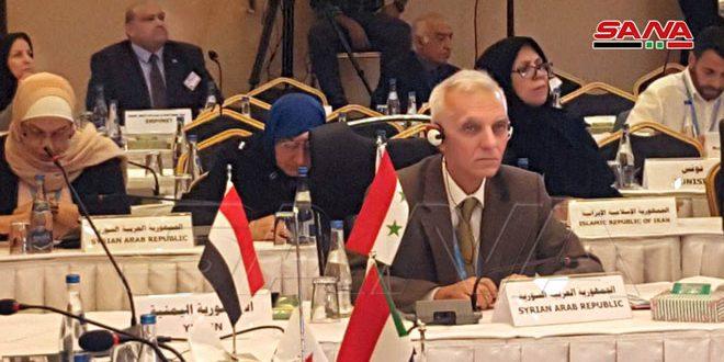 اختتام فعاليات اجتماع اللجنة الإقليمية للصحة العالمية بالتصديق على بيان طهران