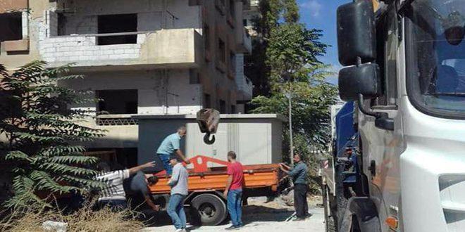 بكلفة 90 مليون ليرة.. كهرباء حمص تعيد تأهيل مركزي تحويل في القرابيص والرستن