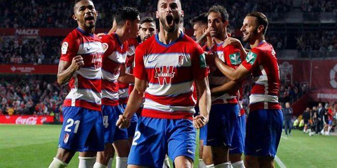 غرناطة يتغلب على أوساسونا في الدوري الإسباني بكرة القدم