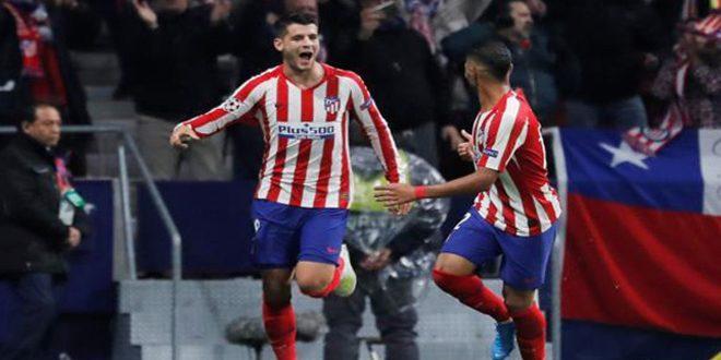 أتليتكو مدريد يفوز على ليفركوزن بدوري أبطال أوروبا