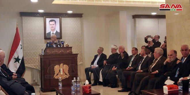 لقاء تضامني للأحزاب والقوى الوطنية اللبنانية مع سورية