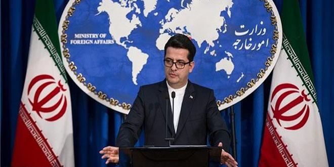 الخارجية الإيرانية تجدد التأكيد على ضرورة احترام سيادة سورية ووحدة أراضيها