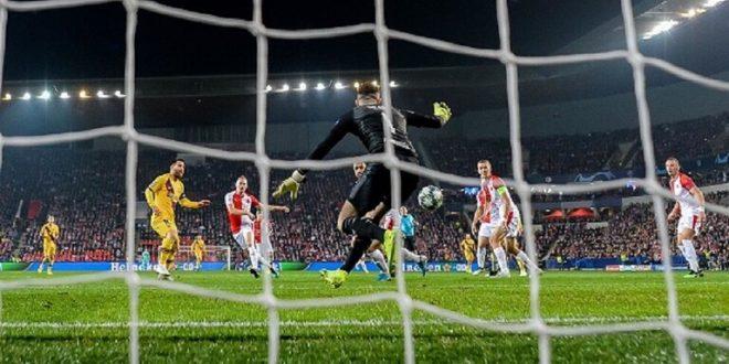 فوز صعب لبرشلونة على سلافيا براغ.. وانتر ميلان يحسم موقعة بروسيا دورتموند