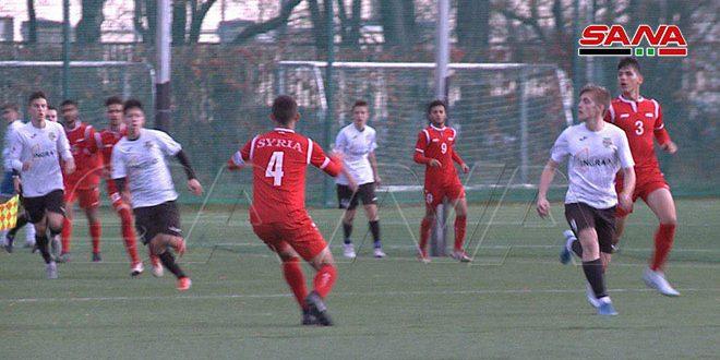 منتخب سورية للناشئين لكرة القدم يخسر أمام فريق توربيدو في دورة ودية بروسيا