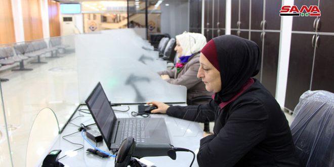 تجهيز مركز خدمة المواطن في مجلس مدينة درعا