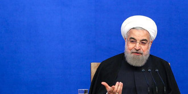 روحاني: العدوان التركي على الأراضي السورية غير مقبول ويزعزع استقرار المنطقة