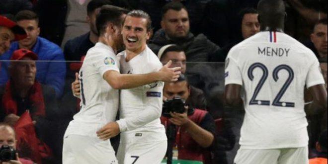فرنسا تهزم ألبانيا 2-صفر في التصفيات المؤهلة ليورو 2020