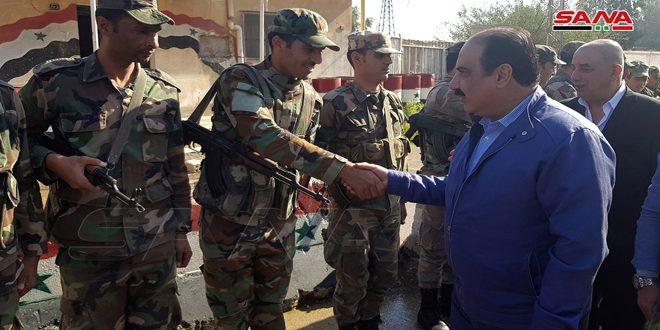 الهلال يزور عدداً من التشكيلات العسكرية العاملة في الحسكة: النصر على الإرهاب حتمي