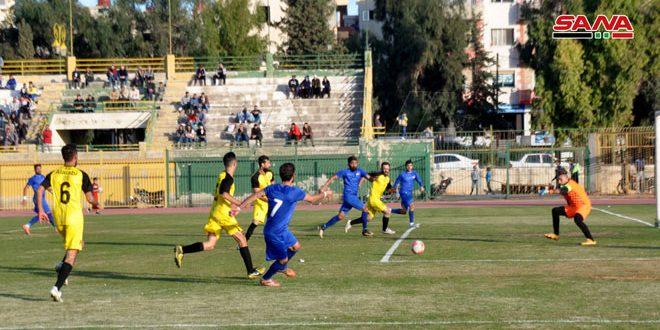 فوز المحافظة على العربي في دوري الدرجة الأولى بكرة القدم