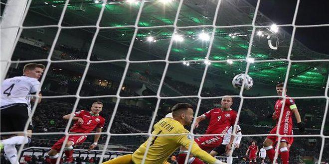 ألمانيا تفوز على بيلاروسيا وتتأهل إلى بطولة أوروبا 2020