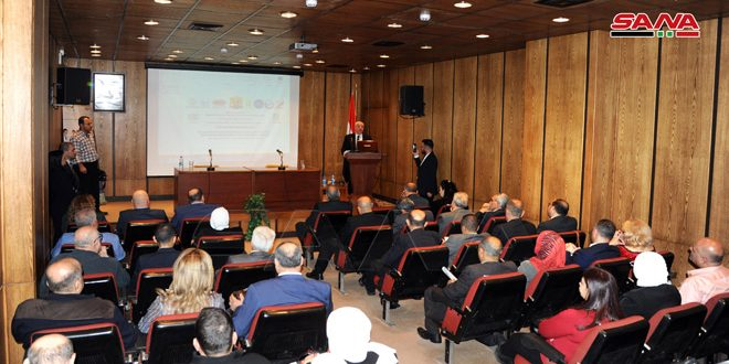مؤتمر إدارة جودة وتنافسية الصناعات الغذائية في مكتبة الأسد