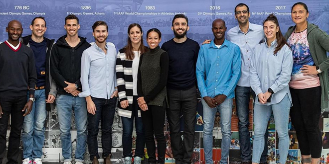 لاعب منتخب سورية مجد الدين غزال عضواً في لجنة الرياضيين في الاتحاد الدولي لألعاب القوى