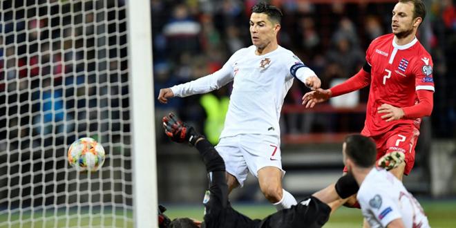 البرتغال تبلغ نهائيات بطولة أوروبا 2020 بفوزها على لوكسمبورغ