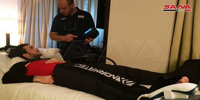 المصري: لدينا عيادة متنقلة للعلاج الفيزيائي وحالات لاعبي منتخبنا الصحية جيدة
