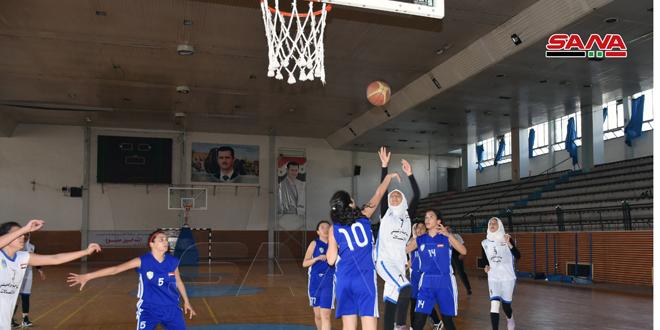فوز ناشئات سلمية على النواعير في دوري كرة السلة