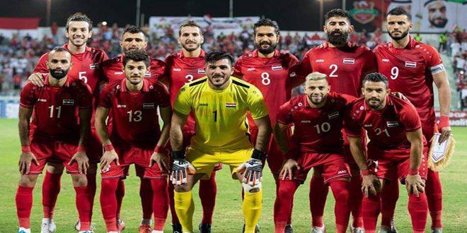 لاعبو منتخب سورية لكرة القدم: حققنا هدفنا ورسمنا الفرحة على وجوه السوريين