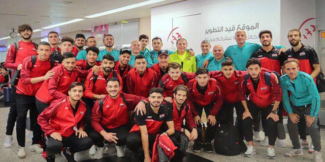 منتخب سورية الأولمبي يتوج بطلاً لدورة الصين الدولية لكرة القدم