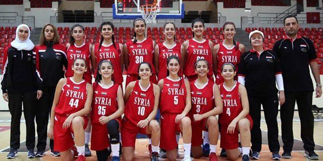 عودة البطولات الدولية إلى صالات كرة السلة السورية من بوابة بطولة غرب آسيا للسيدات تحت 16 عاما