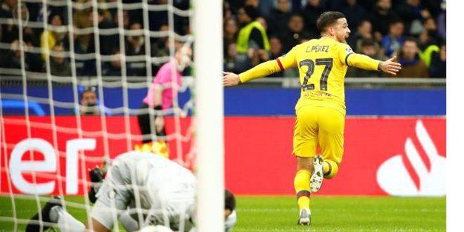 برشلونة يحرم إنتر ميلان من التأهل إلى دوري أبطال أوروبا