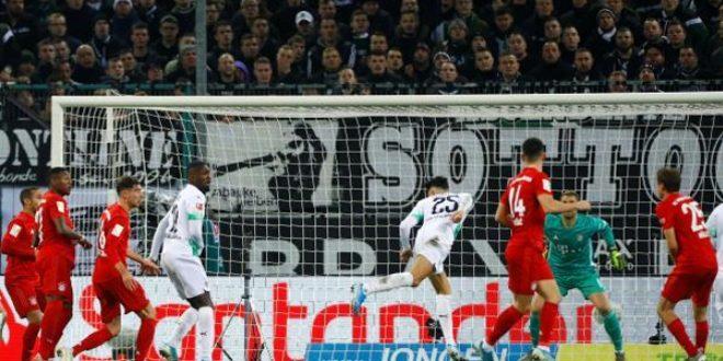 مونشنغلادباخ يهزم بايرن في الدوري الألماني