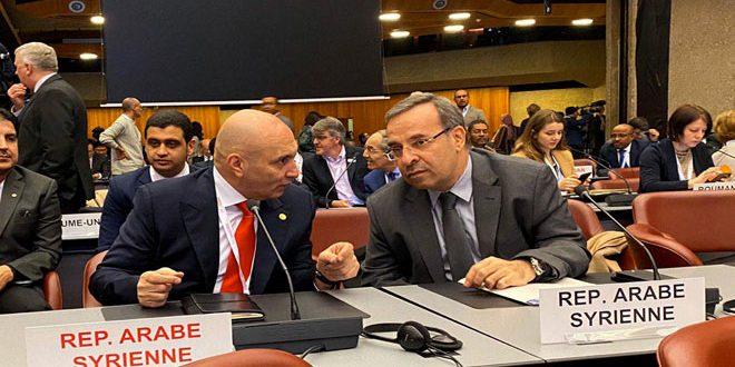 سورية تشارك في المؤتمر الدولي الـ 33 للصليب الأحمر والهلال الأحمر