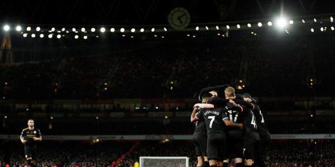 مانشستر سيتي يفوز على أرسنال في الدوري الإنكليزي الممتاز