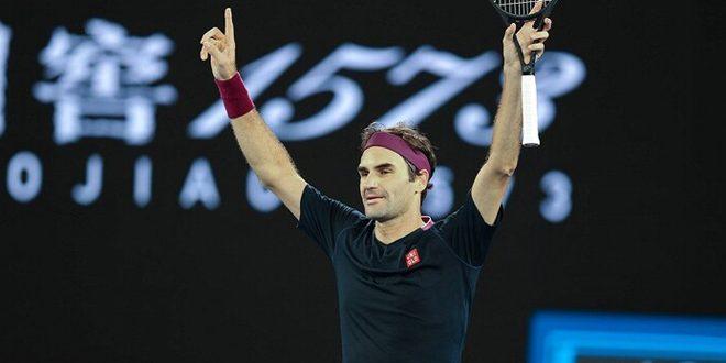 فيدرر يهزم فوتشوفيتش ويبلغ دور الثمانية ضمن بطولة استراليا المفتوحة للتنس