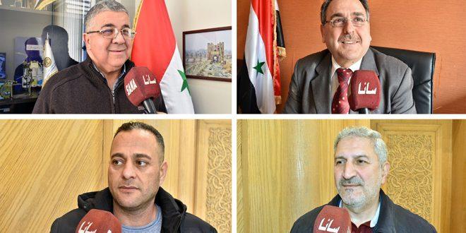 الفعاليات الاقتصادية والاجتماعية في حلب: الوعي بأبعاد الحرب الاقتصادية على سورية يساعد في تجاوزها