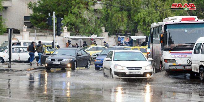 أمطار متفرقة في معظم المناطق أغزرها 19 مم بالمالكية بريف الحسكة