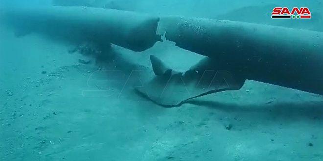 الكوادر الفنية بوزارة النفط تبدأ عمليات تقييم وإصلاح الأضرار بمرابط النفط في بانياس- فيديو