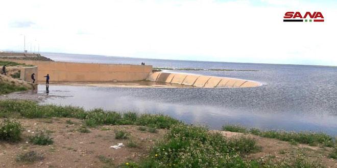 13 مليون متر مكعب كميات المياه المخزنة في سدود الحسكة خلال الموسم الحالي