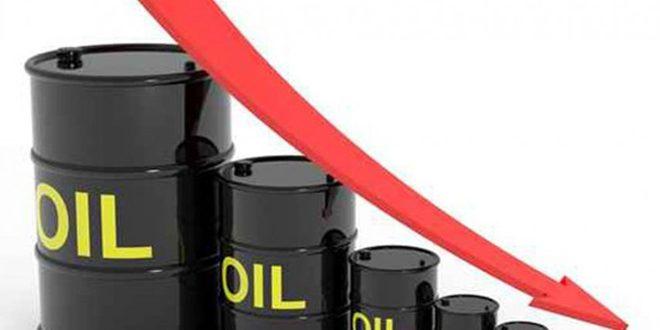 استمرار تراجع أسعار النفط