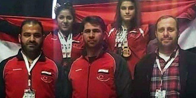 تسع ميداليات لسورية في بطولة آسيا لرفع الأثقال