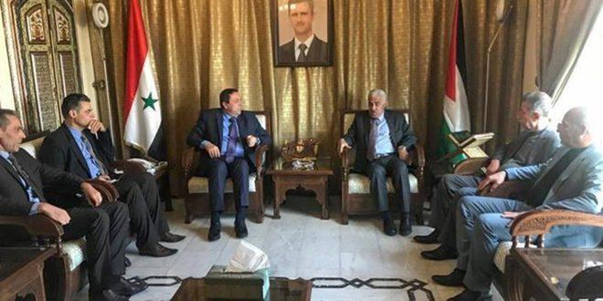 حزب الوحدة الشعبية الديمقراطي الأردني يجدد وقوفه إلى جانب سورية