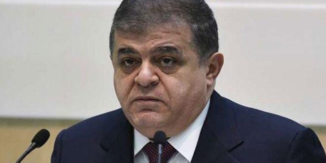 جباروف: تركيا تحمي الإرهابيين في إدلب وعليها أن تتوقف عن ذلك