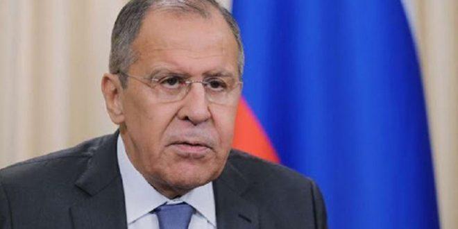 لافروف يبحث مع بوريل الأوضاع في سورية وليبيا
