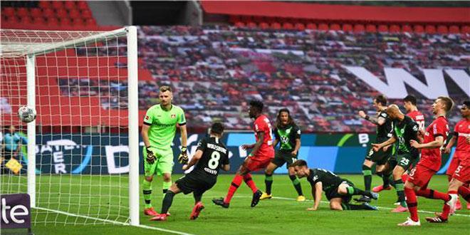فولفسبورغ يهزم ليفركوزن 4-1 بدوري الدرجة الأولى الألماني