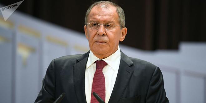 لافروف يجدد التأكيد على ضرورة القضاء على الإرهاب في إدلب