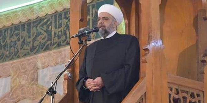 وزير الأوقاف: دمشق ستبقى أمينة على الإسلام بوسطيته واعتداله واحترامه للعقل والفكر