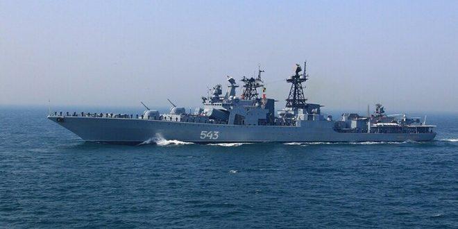 فرقاطتان روسيتان مزودتان بصواريخ كاليبر تتوجهان نحو الساحل السوري