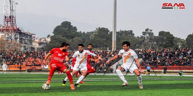 فوز الوثبة والجيش على الاتحاد والوحدة في افتتاح إياب الدوري الممتاز لكرة القدم