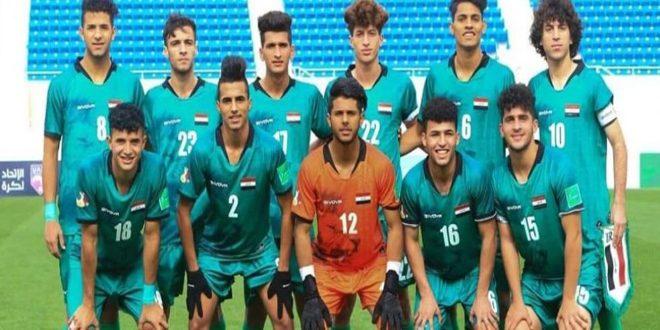 فوز مصر على العراق في البطولة العربية للشباب